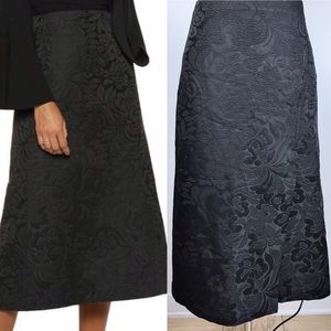 EUC✨THEORY Anneal Aster Jacquard Skirt Black 0